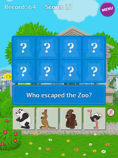 【免費教育App】Who Escape Zoo-APP點子