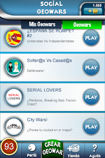 Social Geowars. Play&Win. - screenshot thumbnail