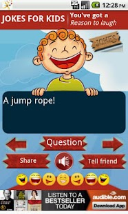 Funny Jokes for Kids - screenshot thumbnail