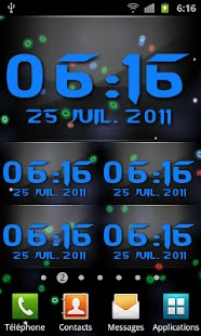 Digital Glass Clock - screenshot thumbnail