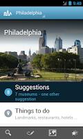 Screenshot of Philadelphia Travel Guide