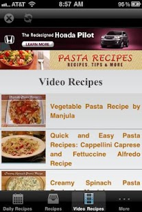 Pasta Recipes! - screenshot thumbnail