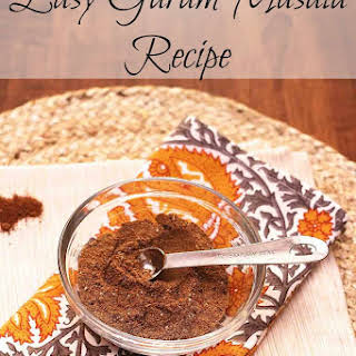 Easy Garam Masala.