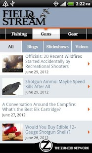 Field & Stream Online- screenshot thumbnail