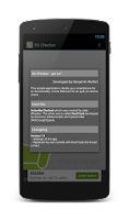 Screenshot of SU Checker