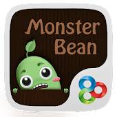 Monster Bean GO Launcher Theme