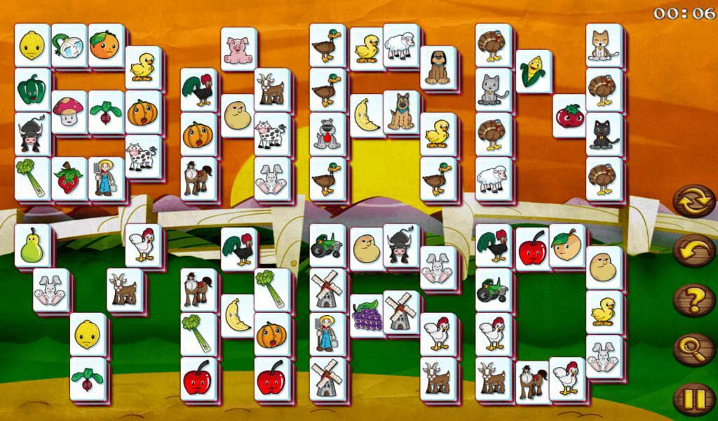 Barnyard Mahjong HD - screenshot