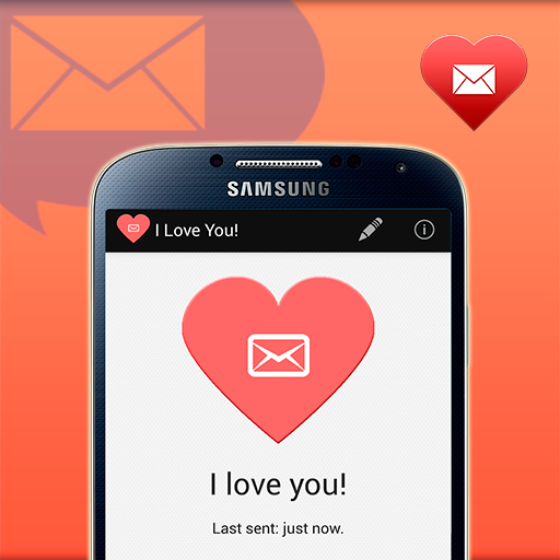 Love SMS Messenger - screenshot