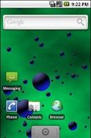 Screenshot of 3D Bubbles Live Wallpaper