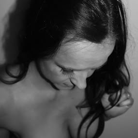Boudoir by Teresa Wittman - Black & White Portraits & People ( nude, black and white, woman, people, photography,  )