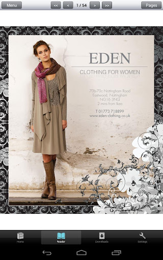 Eden Clothing for Women
