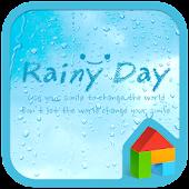 rainy day dodol launcher theme