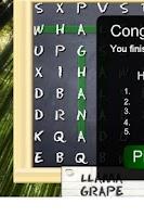 Screenshot of Word Up!