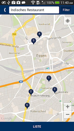 玩旅遊App|Die Essener BranchenMap免費|APP試玩
