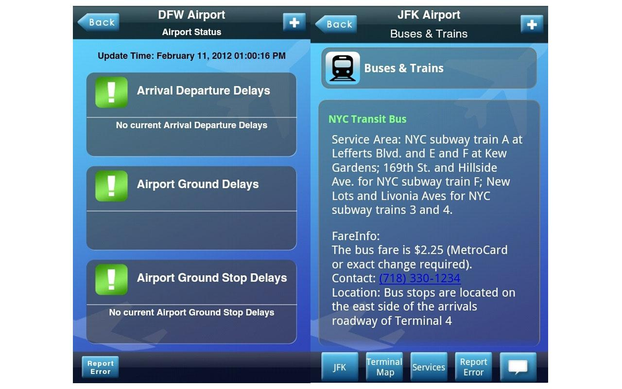 iFly Pro Airport Guide - screenshot