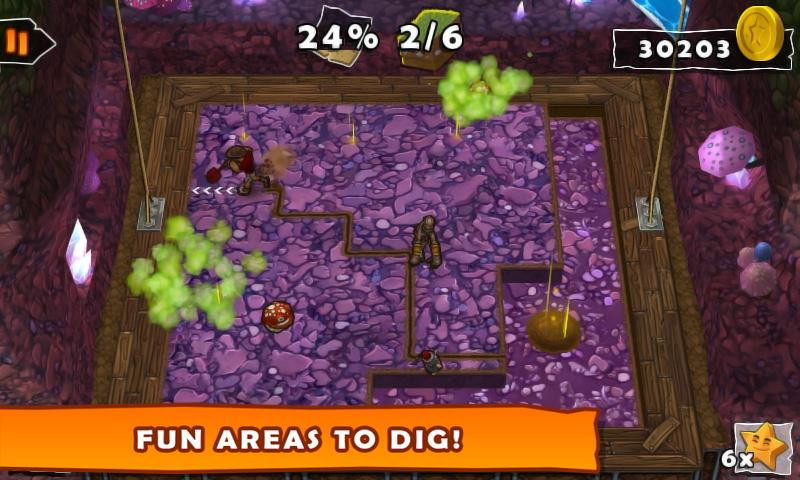 Dig!- screenshot