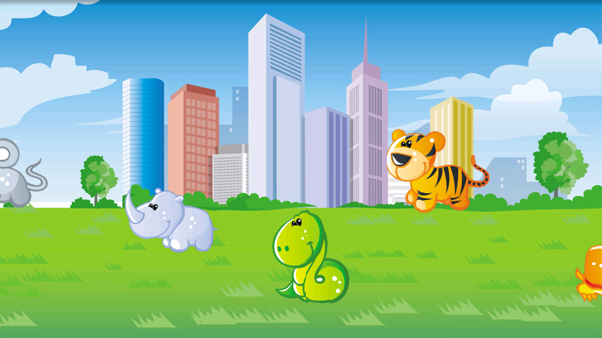 Zooland animals learning- screenshot