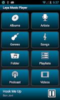 Screenshot of Laya Music Player