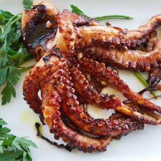Italian-Style Grilled Octopus.