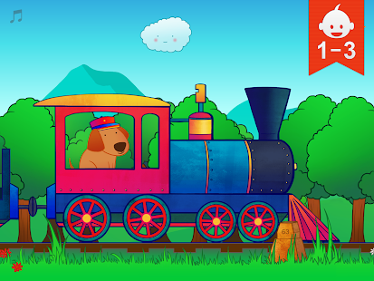 Animal Train for Toddlers- screenshot thumbnail