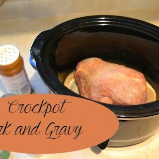 Crockpot Pork And Gravy