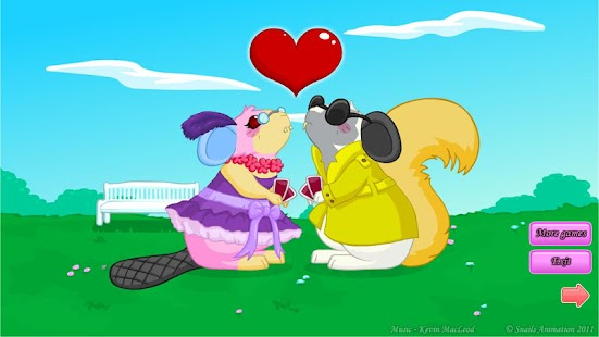 Nibbler Love - Dress Up - screenshot thumbnail