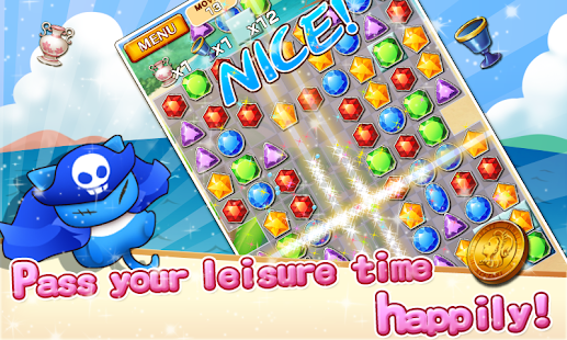 Jewel Pirates - Puzzle game- screenshot thumbnail