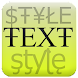 Text Styler Personalized Texts icon