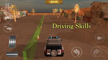 Screenshot of Cops vs. Mafia 4x4 3D
