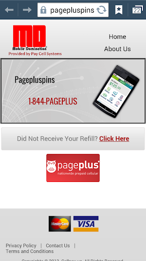 Pageplus Pins Instantly NO TAX