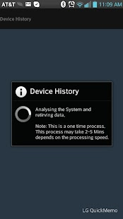 Device History - screenshot thumbnail
