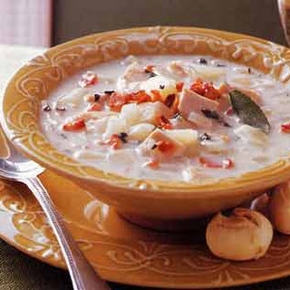 Turkey Sage Chowder