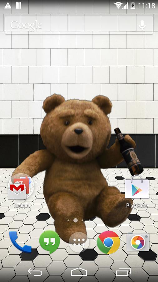 TED Live Wallpaper - screenshot