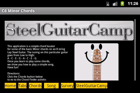 Simple C6 Minor Chord Locator