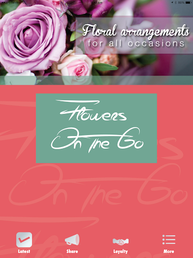 Floral Art - Flowers On The Go
