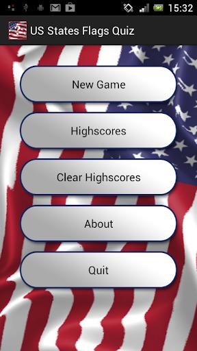 US States Flags Quiz