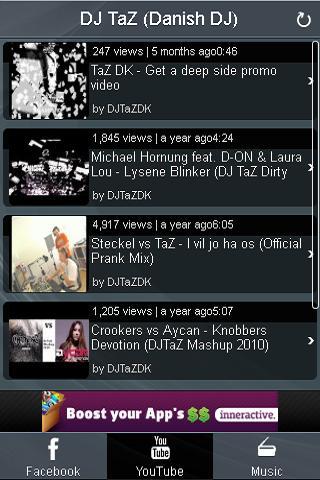 DJ TaZ (Danish DJ) - Fan app - screenshot