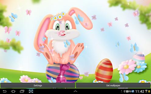 復活節兔 動態壁紙