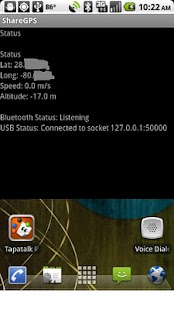 ShareGPS BETA - screenshot thumbnail