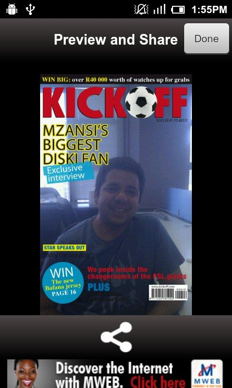 Kick Off Cover Star - screenshot