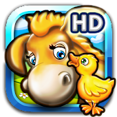 Animal puzzle for kids farm HD