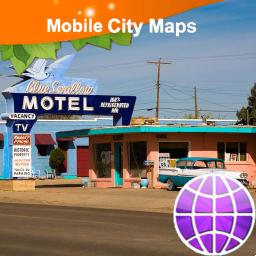 Tucumcari Street Map
