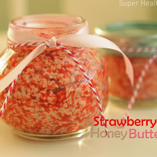 Fresh Strawberry Honey Butter