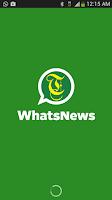 Screenshot of WhatsNews