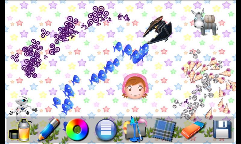 Magic Tablet Painting For Kids - screenshot