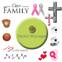 Sticker Manager Beta logo