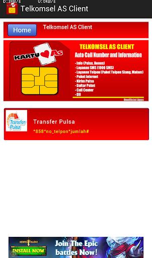 【免費工具App】Telkomsel AS Client-APP點子