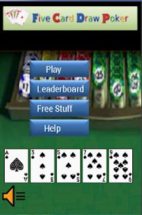 5 card stud poker free online