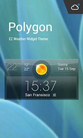 Aero weather clock widget ◕‿◕ 4.8.2.a_release screenshot 611345