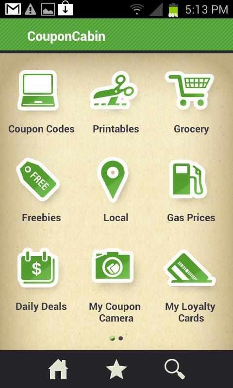 CouponCabin - Coupons & Deals - screenshot